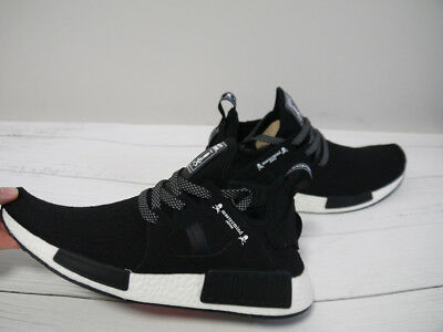 official photos fb149 824a4 ADIDAS X MASTERMIND Japan MMJ NMD XR1 Black White Athletic Sneakers Size 8