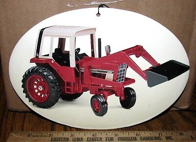 International Harvester IH 1586 Tractor Cardboard Advertising Display Ertl Toy ?