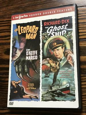 The Leopard Man / The Ghost Ship (DVD) - Val Lewton, Dennis O'Keefe, Richard D..