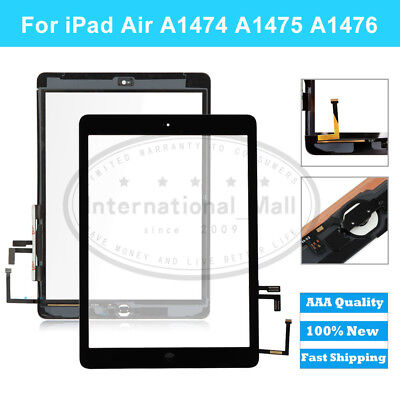 Glass Screen Touch Digitizer replacement for Apple iPad Air 1st A1474 A1475 1476