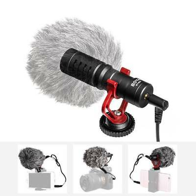 BOYA BY-MM1 Metal Mic Video Cardiod Microphone for DSLR Camera Camcorder Phone