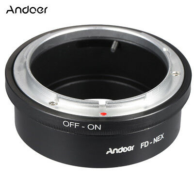 Lens Adapter Ring for Canon FD to  E Mount NEX Alpha A7 A7R a6000 a5100 J5I2