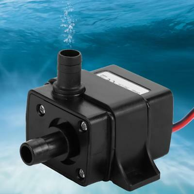 Ultra-Quiet Brushless Motor Submersible Pool Water Pump DC 12V 240L/H Solar
