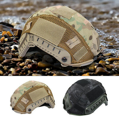 Outdoor Airsoft Paintball Tactical Military Combat Fast Helmet Cover 2 Colors