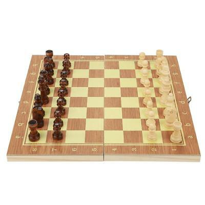 Folding wooden Chessboard High Quality Chess Game Set Folding 29*15*3cm Portable