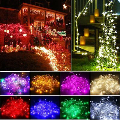 Fairy string Light Lamp 50M 400LED Christmas Wedding Xmas Party Decor Outdoor US