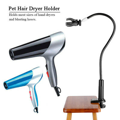 Pet Dog Grooming Table Arms Hair Dryer Holder Hands-Free Adjustable Clamp Tool