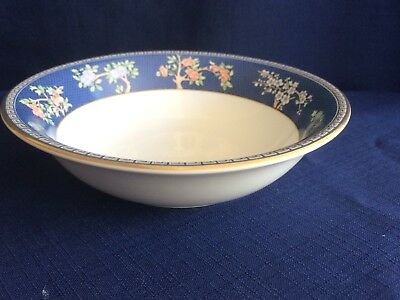 """Wedgwood Blue Siam 6 1/8 """" cereal bowl (very minor scratches)"""