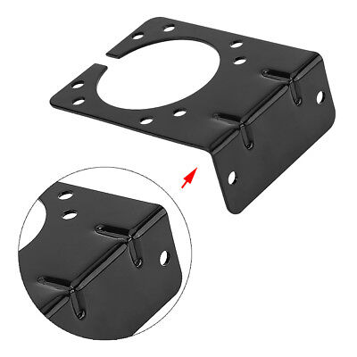 7 Pin Towing Trailer Connector Plug Socket Mounting Bracket Holder Durable