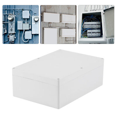 263x185x95mm IP65 Waterproof White Electronic Project Box Enclosure Plastic Case