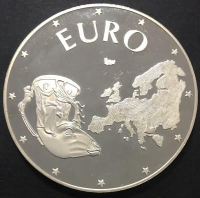 10000 Leva Proof Bulgaria 1998 'Euro' Silver coin
