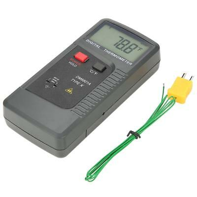 DM6801A K-Type Thermocouple Digital Thermometer Contact Type Dual Channel HighQ