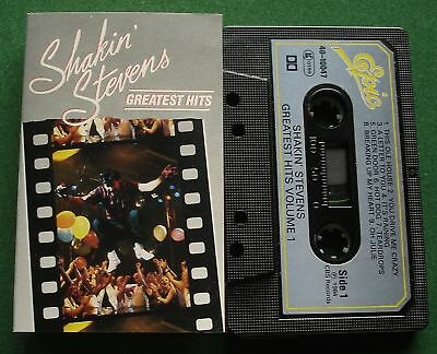 Shakin' Stevens Greatest Hits Vol 1 inc This Ole House + Cassette Tape - TESTED