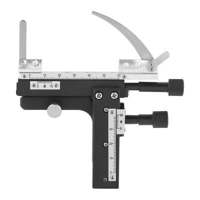 Attachable Mechanical X-Y Moveable Stage Caliper With Scale for Microscope gbd