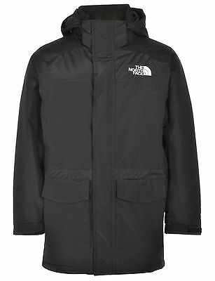 Men's The North Face Carnic Jacket Black Insulated Hoodie Parka Coat Size Xs