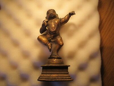 Large Vintage Indian  Brass or Bronze Hindu Seated God Shiva? No Reserve