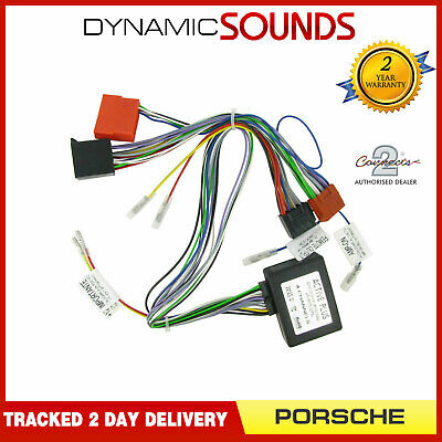 CT53-PO01 CD Wiring Loom Harness Active System Adaptor For Porsche 911, Boxster