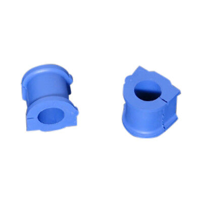 Hardrace Hard Rubber Front Stabilizer Bushes Blue 2Pc Miutsubishi Colt 04-13