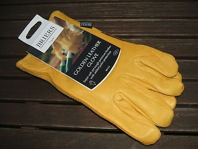 Briers Golden Leather Gloves Large Size 9