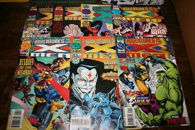 Adventures Of The X-Men Issues 1, 3-7 & 11_All Grade Around Near Mint Minus!