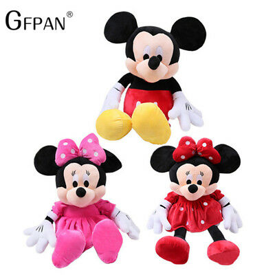 GFPAN 1 Pcs 3 Hot Sale Lovely Mickey Mouse & Minnie Stuffed Soft Plush Toys Gift