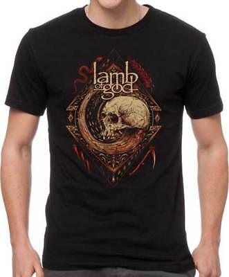 LAMB OF GOD - Mori Wheel - T SHIRT S-M-L-XL-2XL New Official H3 Sportgear Merch