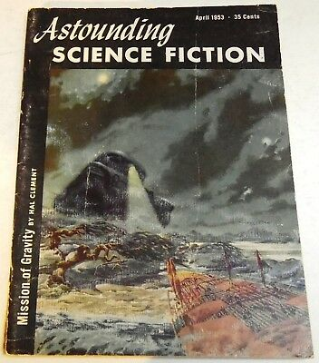 Astounding Science-Fiction – US digest – Vol.51 No.2 - April 1953 - Hal Clement