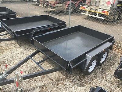 """8x5 TANDEM BOX TRAILER 