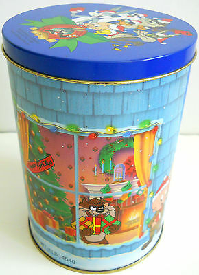 Looney Tunes Holiday Tin Featuring Bugs Bunny & 11 Other Cartoon Characters