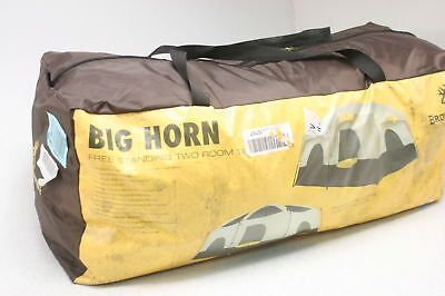 Browning Camping Big Horn Two Room Tent 8 Person Cap Canopy 10x15ft 87in High