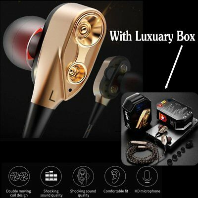 3.5mm Super Bass Music In ear Stereo Headphone Headset Earphone Earbuds With Mic