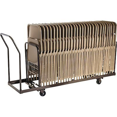 National Public Seating Folding Chair Dolly 38 1/2inH x 19 1/4inW x 81inD
