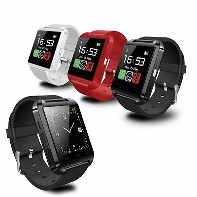 Bluetooth Smart Phone Mate Wrist Watch For Android IOS Samsung HTC SONY Best #
