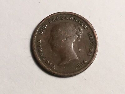 GREAT BRITAIN 1943 1/2 Farthing coin circulated