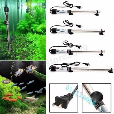 100W 200W 300W 500W Submersible Stainless Steel Water Heater Aquarium Fish