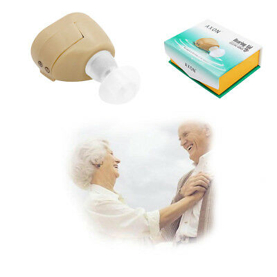 K-86 Mini Digital Listening Hearing Aid/Aids Ear ITE Amplifier Sound Volume Plug