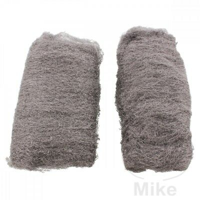 Fine Stainless Steel Wool Polishing Cushion x2pcs 4003364020215