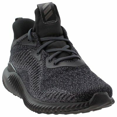 adidas Alphabounce 1 Running Shoes- Black- Womens