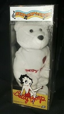 Betty Boop Beanie Baby Bear, still sealed, new in box #6,802 out of 10,000