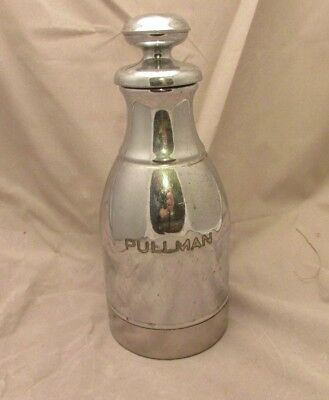 1948 Pullman Railroad Company Silver Stanley Thermos Insulated Carafe Bottle