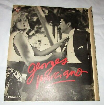 Guess Georges Marciano clothing 1987 vintage full page magazine advertisement ad
