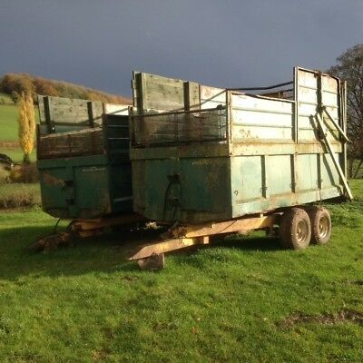 Norton 8t Silage Trailer