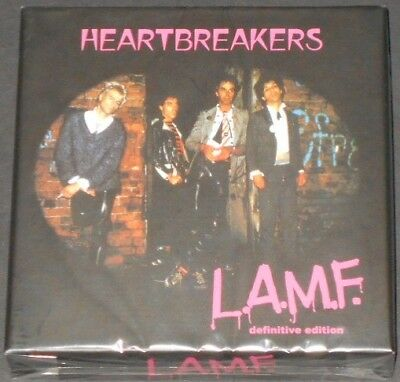 THE HEARTBREAKERS l.a.m.f. definitive edition UK 4CD BOX SET new JOHNNY THUNDERS