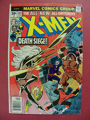 X-MEN #103 DEATH SIEGE JUGGERNAUT+MAGNETO App (5.0 or BETTER) MARVEL COMICS