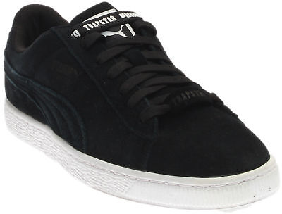 Puma Trapstar Suede Sneakers- Black- Mens