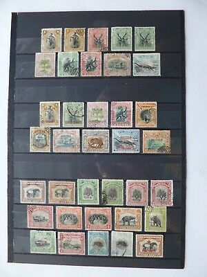NORTH BORNEO :- 1897 - 1918 : Mint & Used selection.