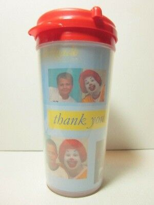 New - Whirley RONALD MCDONALD HOUSE Insulated Plastic Lidded Cup