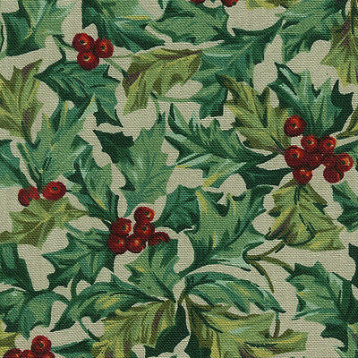 Longaberger Handle Gripper in American Holly Fabric