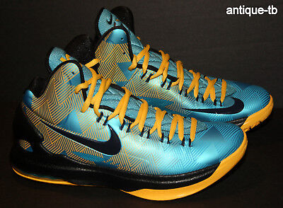 reputable site f7561 a6aa8 Nike Kd V N7 Men s 13.5 New 599294-447 Rare 2013 Ds Native American  Turquoise