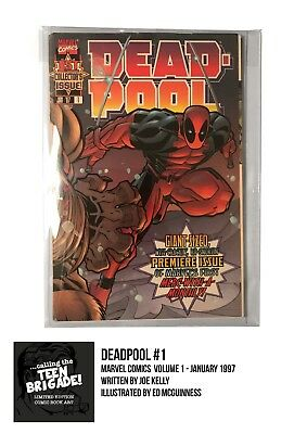 Deadpool #1 - Marvel Comics - January 1997 - 1st Print